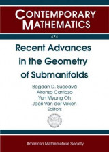 Omslag - Recent Advances in the Geometry of Submanifolds