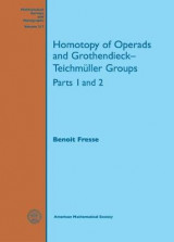 Omslag - Homotopy of Operads and Grothendieck-Teichmuller Groups