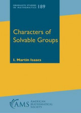 Omslag - Characters of Solvable Groups