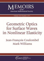 Geometric Optics for Surface Waves in Nonlinear Elasticity av Jean-Francois Coulombel og Mark Williams (Heftet)
