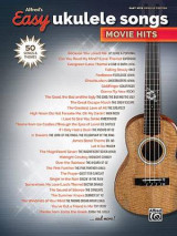 Omslag - Alfred's Easy Ukulele Songs -- Movie Hits
