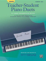 Omslag - Easy Teacher-Student Piano Duets in Three Progressive Books, Bk 1