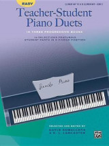 Omslag - Easy Teacher-Student Piano Duets in Three Progressive Books, Bk 2