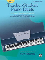 Omslag - Easy Teacher-Student Piano Duets in Three Progressive Books, Bk 3