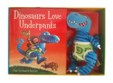 Omslag - Dinosaurs Love Underpants Book and Toy
