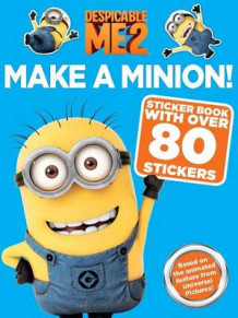 Despicable Me 2: Make a Minion Sticker Book av Kirsten Mayer (Heftet)