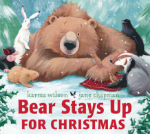 Bear Stays Up for Christmas av Karma Wilson (Heftet)