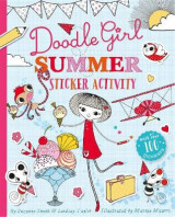 Omslag - Doodle Girl Summer Sticker Activity