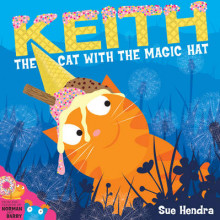 Keith the Cat with the Magic Hat av Sue Hendra (Pappbok)