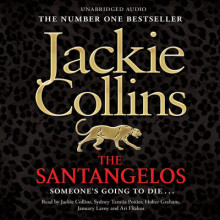 The Santangelos av Jackie Collins, Holter Graham, January LaVoy og Ari Fliakos (Lydbok-CD)