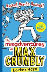 Omslag - The Misadventures of Max Crumbly