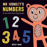 Omslag - Mr Monkey's Numbers