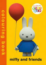 Omslag - Miffy and Friends Colouring Book