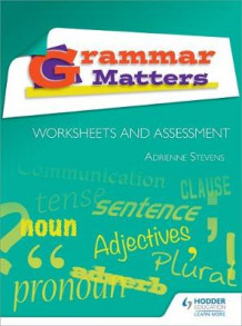 Grammar Matters: Worksheets and Assessment av Adrienne Stevens (Spiral)