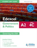 Edexcel A2 Government & Politics Student Unit Guide New Edition: Unit 4C Updated: Governing the USA: Unit 4C av Jonathan Vickery (Heftet)