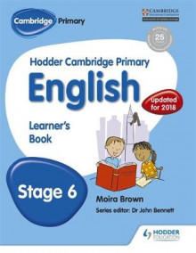 Hodder Cambridge Primary English: Learner's Book Stage 6: Stage 6 av Moira Brown (Heftet)