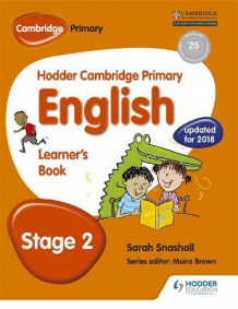 Hodder Cambridge Primary English: Learner's Book Stage 2: Stage 2 av Sarah Snashall (Heftet)