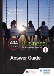AQA A Level Business 1 (Wolinski & Coates) Answers av John Wolinski og Gwen Coates (Heftet)