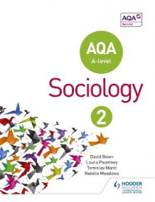 AQA Sociology for A Level Book 2 av David Bown, Laura Pountney, Tomislav Maric og Natalie Meadows (Heftet)