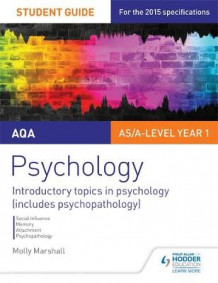 AQA Psychology Student Guide 1: Introductory Topics in Psychology (Includes Psychopathology) av Molly Marshall (Heftet)