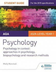 AQA Psychology Student Guide 2: Psychology in context: Approaches in psychology, biopsychology and research methods av Molly Marshall (Heftet)