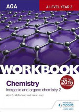 Omslag - AQA A-Level Year 2 Chemistry Workbook: Inorganic and Organic Chemistry 2