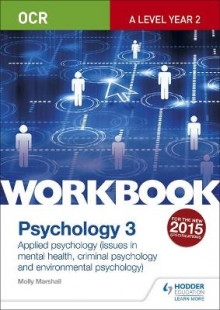 OCR Psychology for A Level Workbook 3 av Molly Marshall (Heftet)