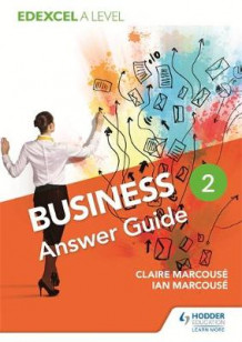 Edexcel Business A Level Year 2: Answer Guide: Year 2 av Ian Marcouse og Claire Marcouse (Heftet)