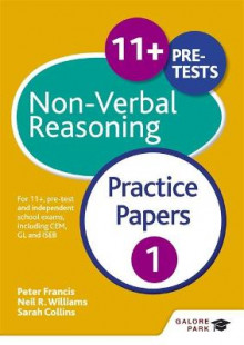 11+ Non-Verbal Reasoning av Neil R. Williams, Peter Francis og Sarah Collins (Heftet)