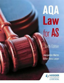 AQA Law for AS av Jacqueline Martin og Denis Lancer (Heftet)