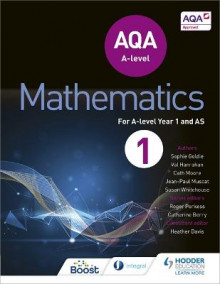 AQA A Level Mathematics Year 1 (AS): Year 1 (AS) av Sophie Goldie, Susan Whitehouse, Val Hanrahan, Cath Moore og Jean-Paul Muscat (Heftet)