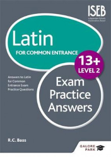 Latin for Common Entrance 13+ Exam Practice Answers: Level 2 av R. C. Bass (Heftet)