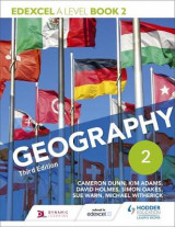 Omslag - Edexcel A Level Geography Book 2