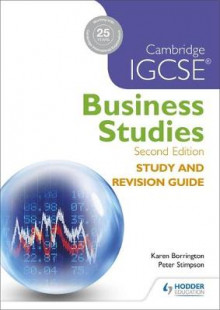 Cambridge IGCSE Business Studies Study and Revision Guide av Karen Borrington og Peter Stimpson (Heftet)