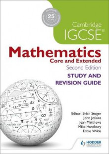 Cambridge IGCSE Mathematics Study and Revision Guide av Brian Seager, Mike Handbury, John Jeskins, Jean Matthews og Eddie Wilde (Heftet)