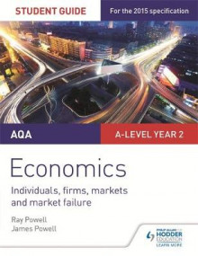 AQA A-Level Economics Student Guide 3: Individuals, Firms, Markets and Market Failure av Ray Powell og James Powell (Heftet)