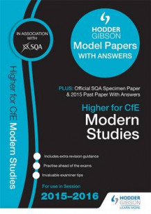 Higher Modern Studies 2015/16 SQA Specimen, Past and Hodder Gibson Model Papers av SQA (Heftet)