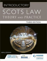Omslag - Introductory Scots Law Third Edition