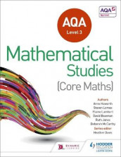 AQA Level 3 Certificate in Mathematical Studies av David Bowman, Heather Davis, Anne Haworth, Ruth Jones, Elaine Lambert, Steve Lomax og Deborah McCarthy (Heftet)
