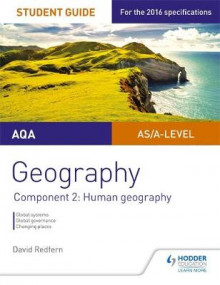 AQA AS/A Level Geography Student Guide: Component 2: Human Geography av David Redfern (Heftet)
