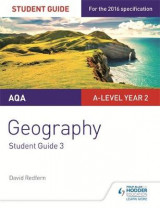 Omslag - AQA A-level Geography Student Guide 3: Hazards; Population and the Environment