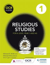 Omslag - OCR Religious Studies a Level Year 1 and AS
