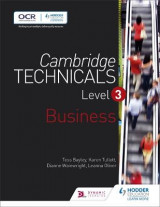 Omslag - Cambridge Technicals: Business Level 3