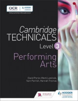 Omslag - Cambridge Technicals Level 3 Performing Arts: Level 3