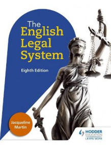 English Legal System Eighth Edition av Jacqueline Martin (Heftet)