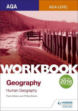 Omslag - AQA AS/A-Level Geography Workbook 2: Human Geography: Workbook 2
