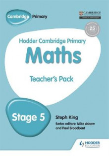 Hodder Cambridge Primary Mathematics Teacher's Resource Pack 5 av Steph King (Heftet)