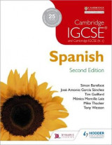 Omslag - Cambridge IGCSE Spanish Student Book