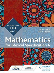 Edexcel International GCSE (9-1) Mathematics Student Book Third Edition av Alan Smith (Heftet)