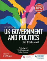 Omslag - UK Government and Political Participation for AS/A Level: AS/A-level